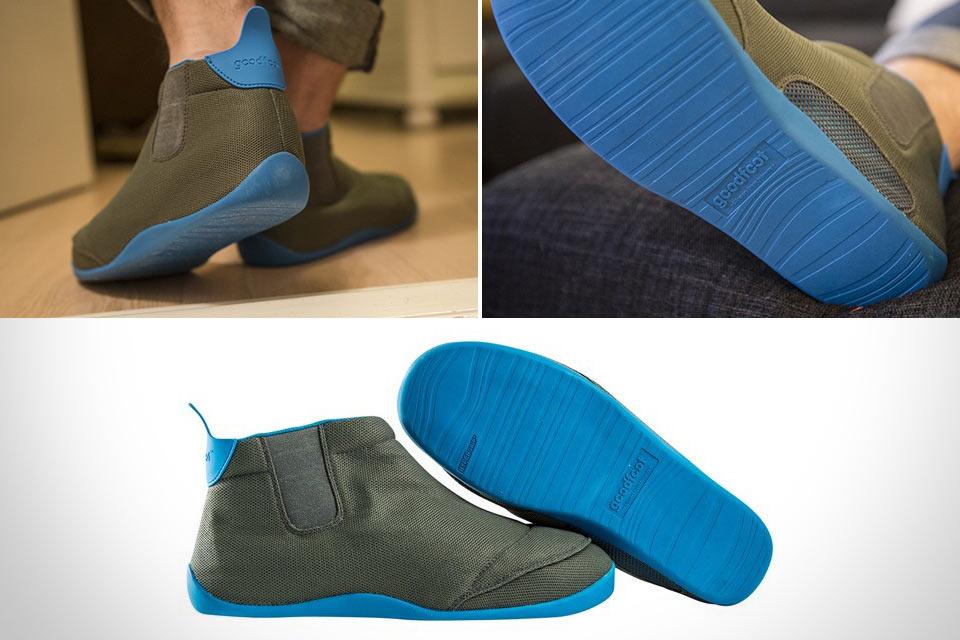 Модные тапки GoodFoot в формате кроссовок