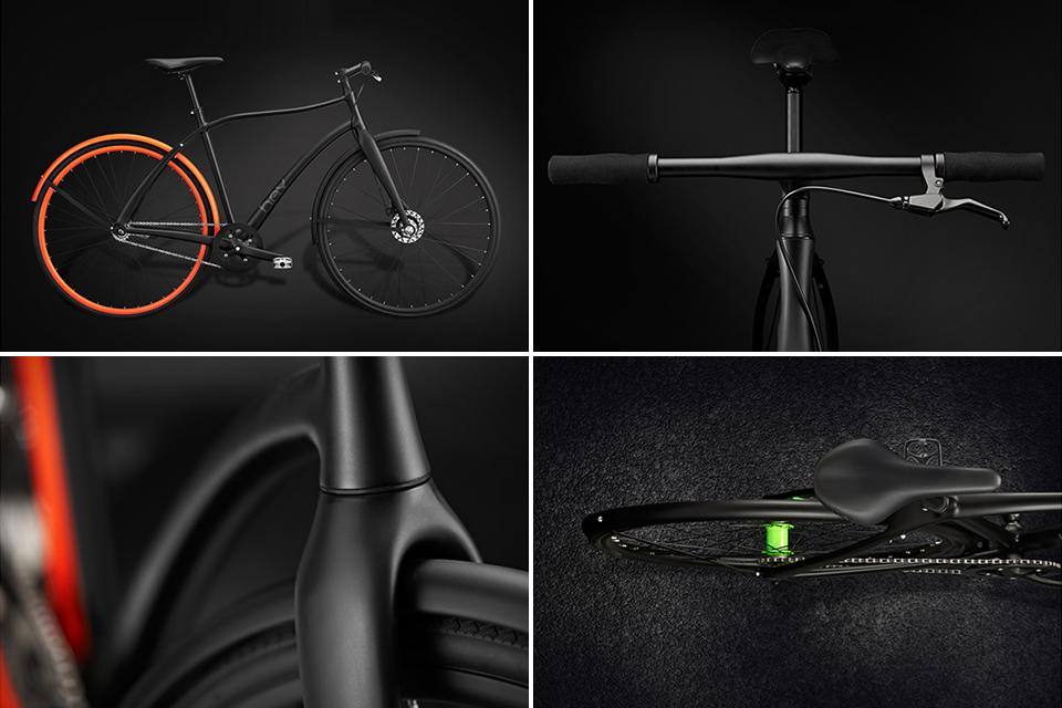 Велосипеды Hey Bicycles с органической формой