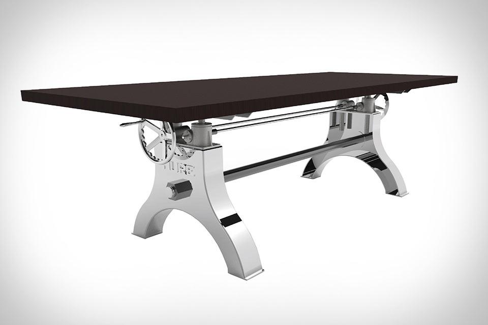 Могучий стол Hure Crank Table с 3-тонным подъемным механизмом