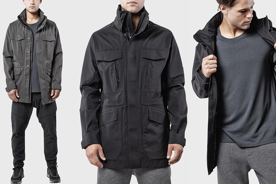 Классическая куртка военного образца Isaora 3L M65 из высокотехнологичных материалов