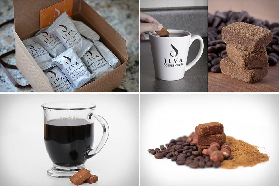 Кофейные кубики Jiva Coffee Cubes