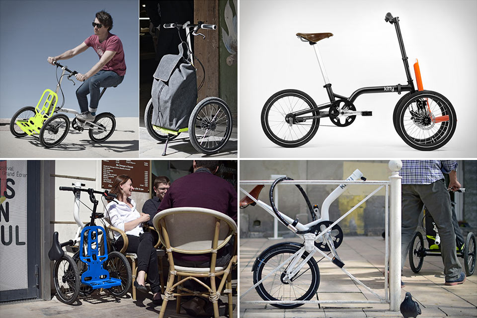 Грузовой велосипед-тележка Kiffy