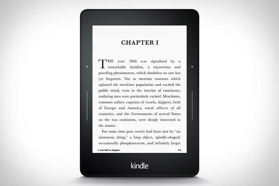 Самый крутой ридер современности Kindle Voyage