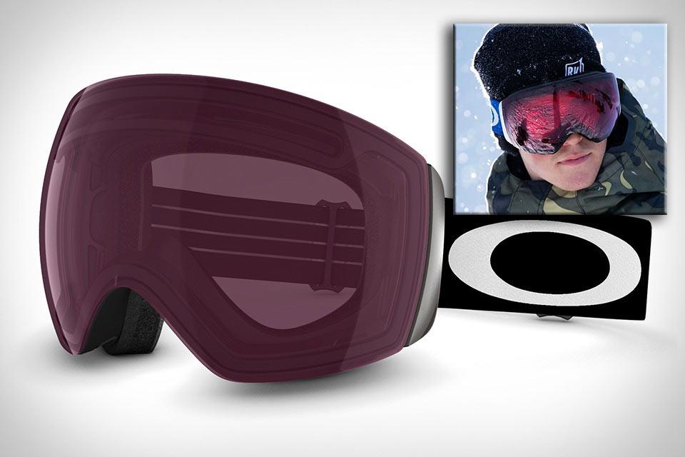 Лыжная маска Oakley Prizm с эффектом повышения контрастности картинки