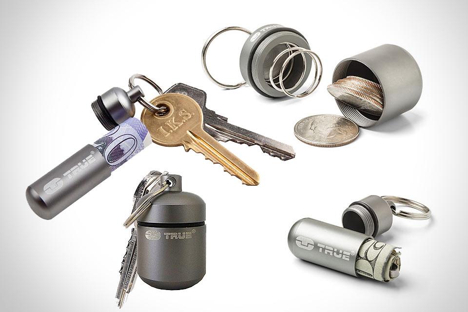 Маленькие металлические контейнеры Pocket Stashes для купюр и монет