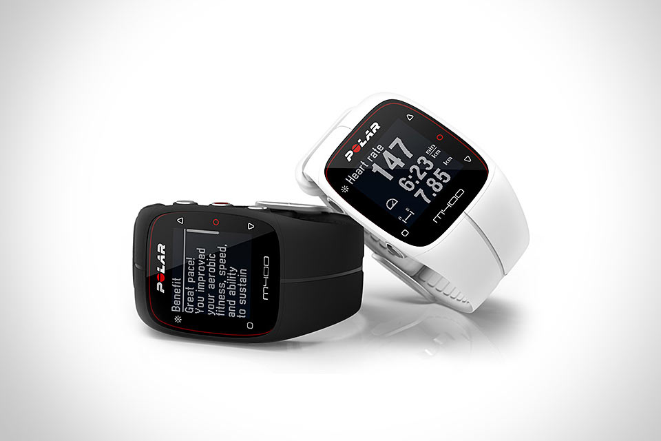 Беговые GPS-часы Polar M400 со спортивным трекером