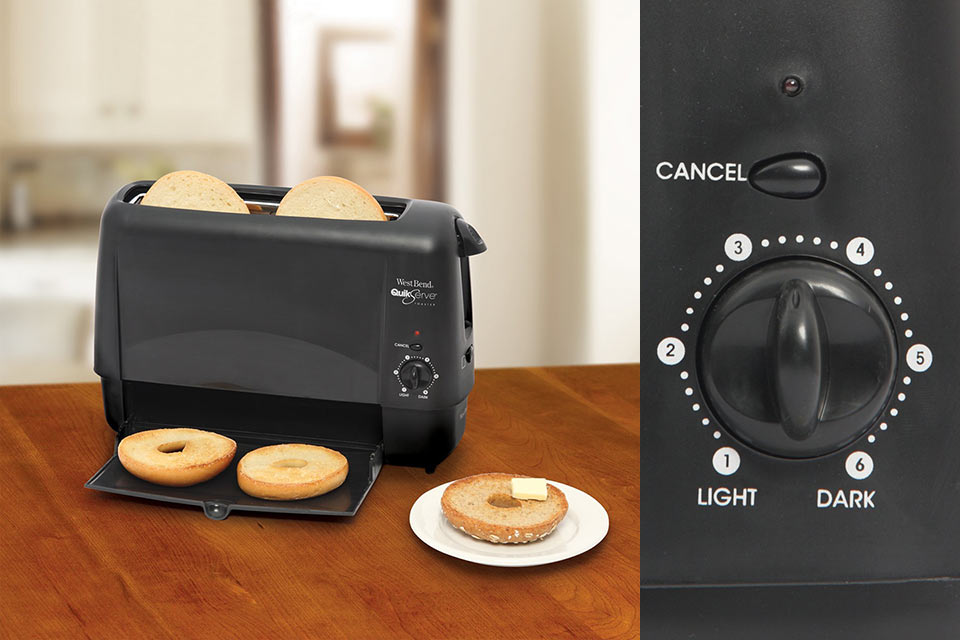 Quik-Serve-Toaster