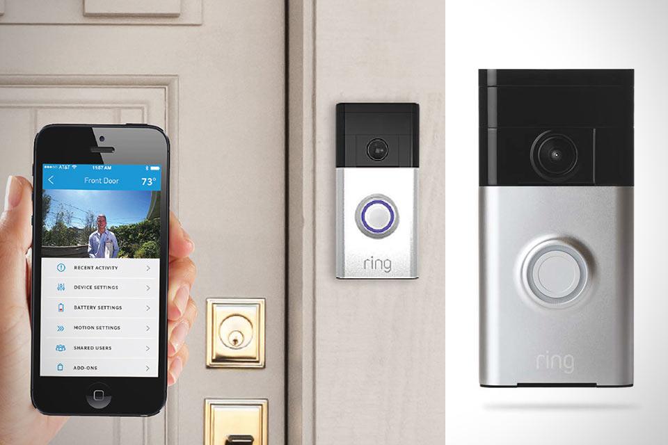 Дверной звонок Ring с камерой, Wi-Fi и функцией трансляции видео