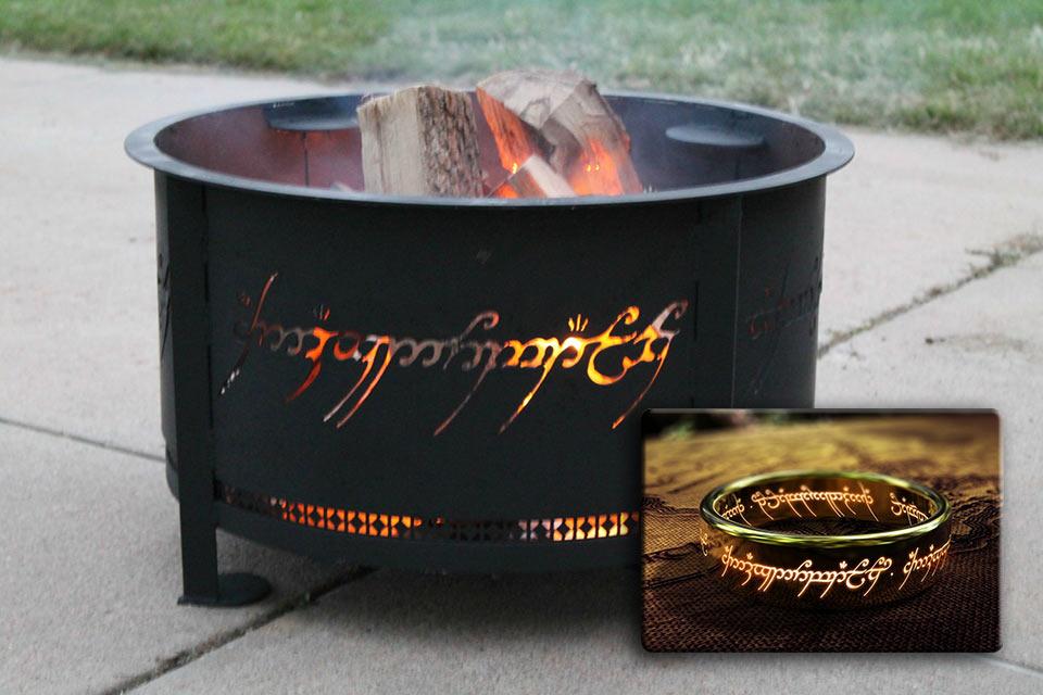 Портативный очаг всевластия The One Ring Firering