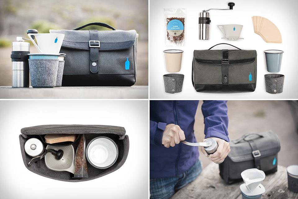 Набор Timbuk2 Blue Bottle Coffee Travel Kit для путешественника-кофемана