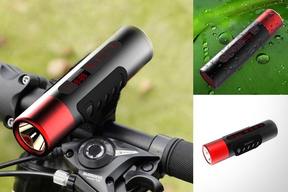 Велосипедный фонарь, динамик, плеер и FM-приемник Freeman X7