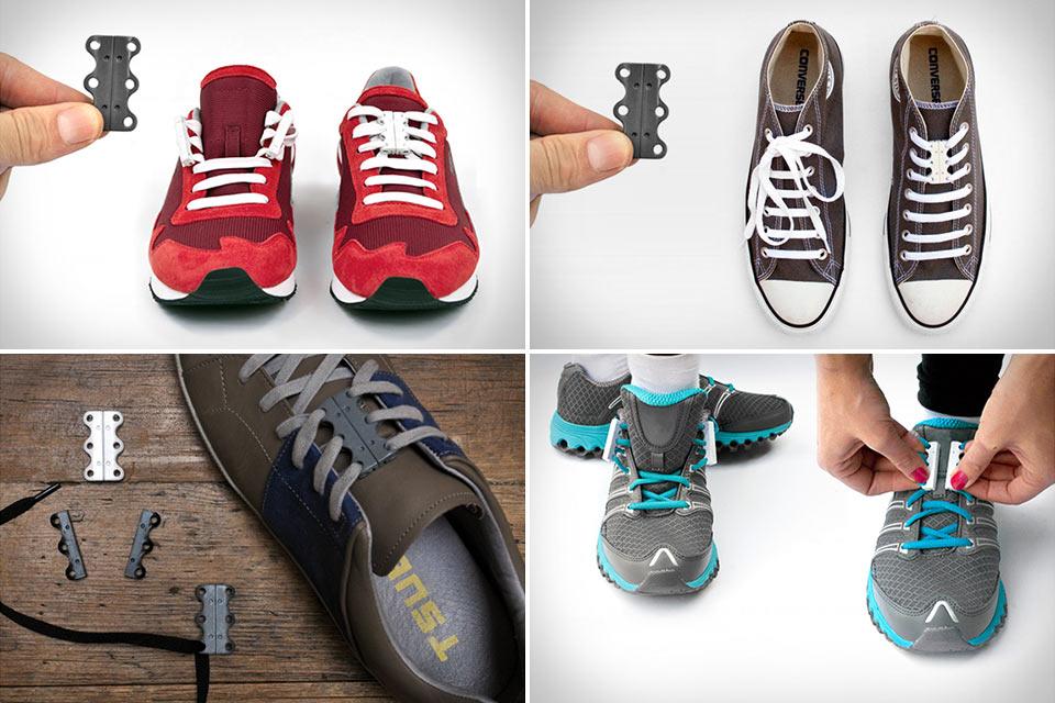 Магнитная застежка Zubits для обуви на шнуровке