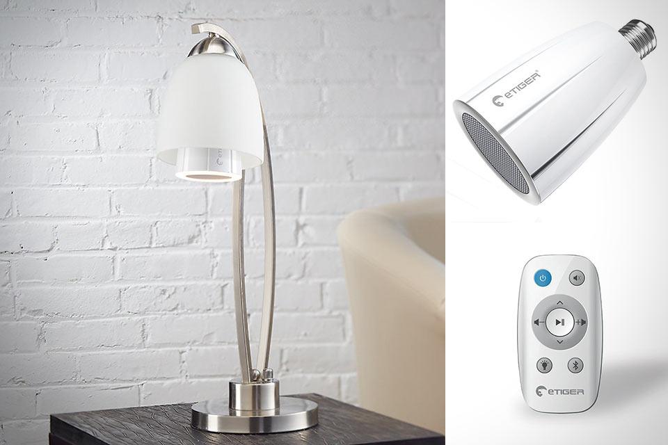 LED-лампочка eTiger Cosmic со встроенной акустикой