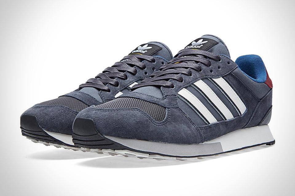 Кроссовки Adidas ZX555, созданные в сотрудничестве с Barbour
