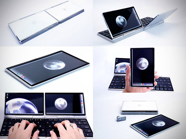 Ноутбук-планшет-смартфон Dragonfly Futurefön