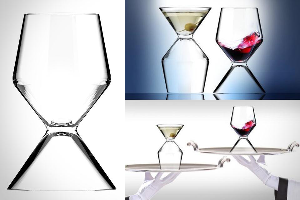 Универсальный бокал Asobu Vino-Tini для мартини и вина