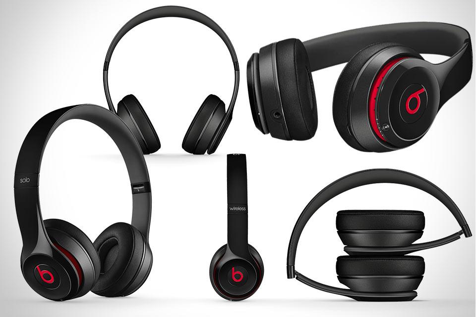 Долгоиграющие беспроводные наушники Beats Solo2 Wireless