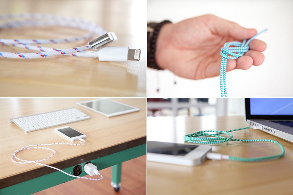 Зарядные кабели BelayCords с двухсторонним USB-штекером