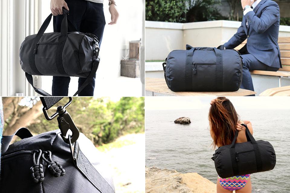 Вместительная EDC-сумка Bomber Barrel весом в 390 г