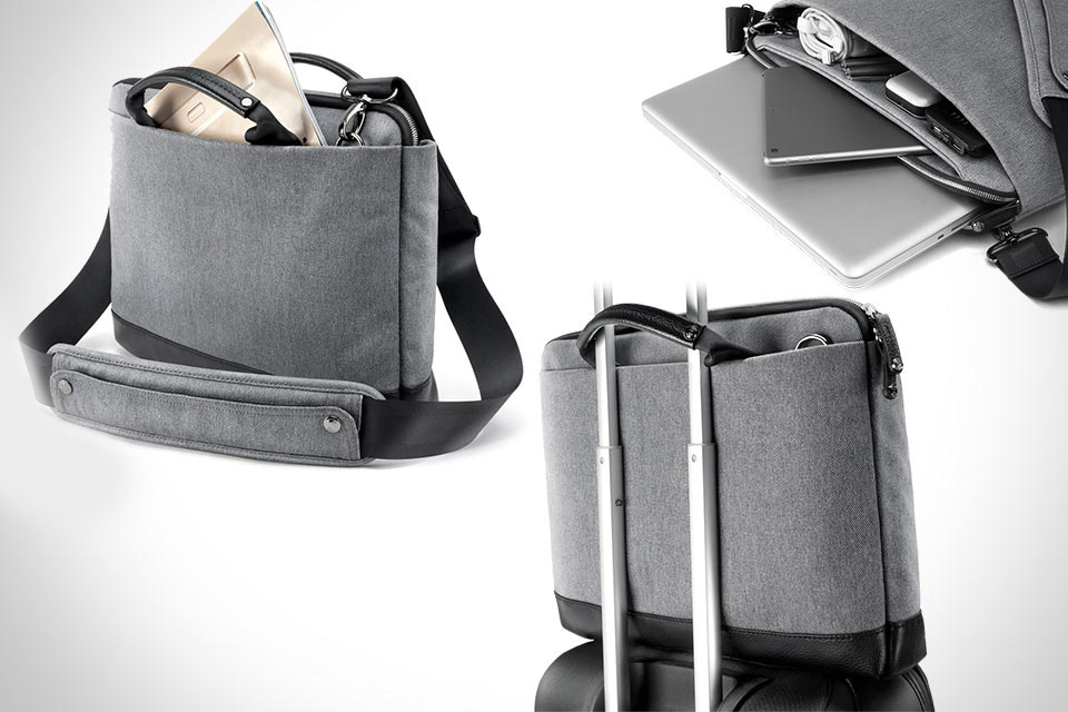 Тонкая и вместительная сумка Booq Cobra Slim для MacBook 15″