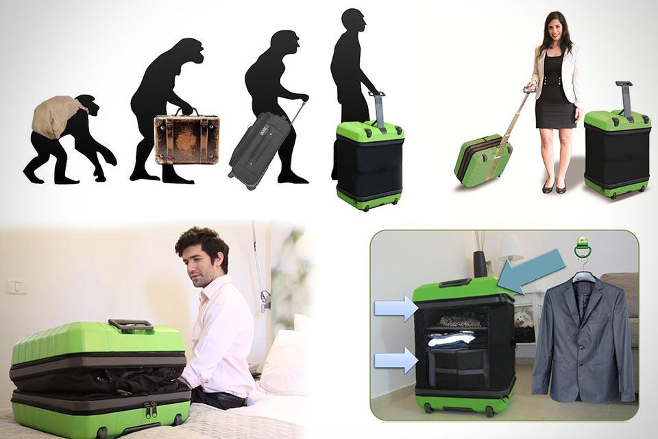 Чемодан-трансформер Fugu Luggage