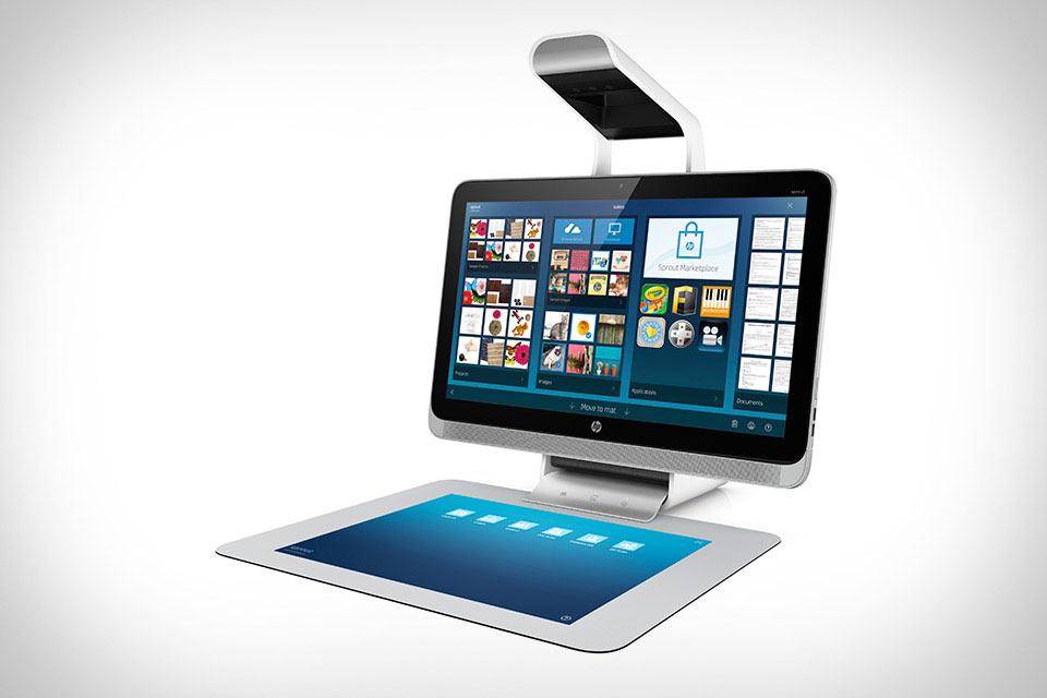 Моноблочный ПК HP Sprout со встроенным проектором для творчества