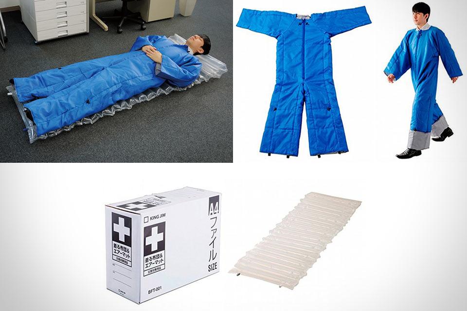 Японский носимый спальник-матрац King Jim Futon Air Mat