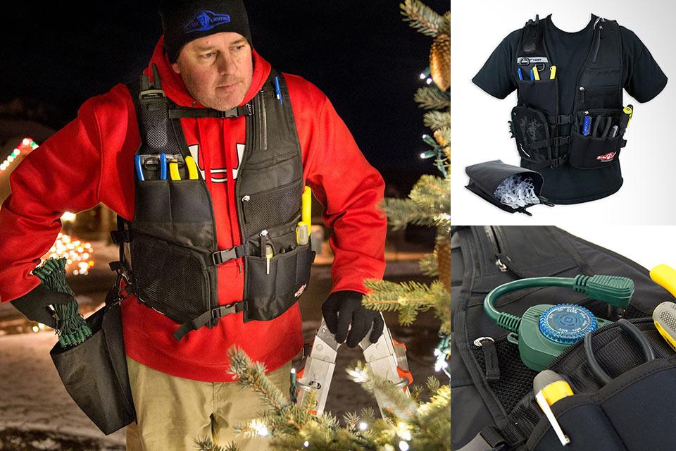 Жилет для монтажа новогодних гирлянд Light Vest