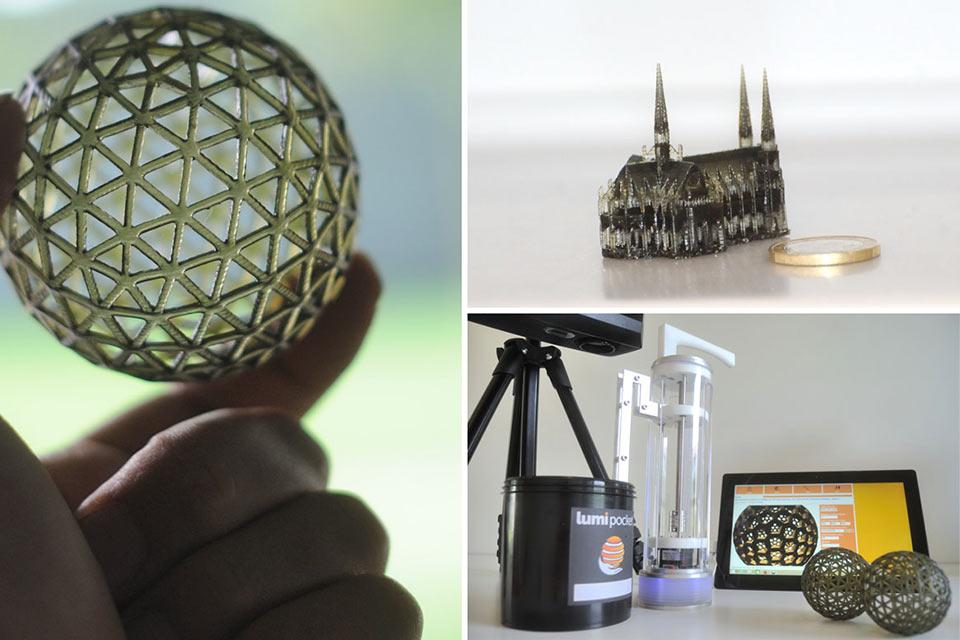 Скоростной 3D-принтер LumiPocket на основе DLP-проектора