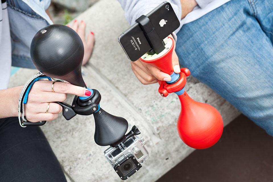 Компактный стабилизатор изображения Luuv для смартфонов и камер