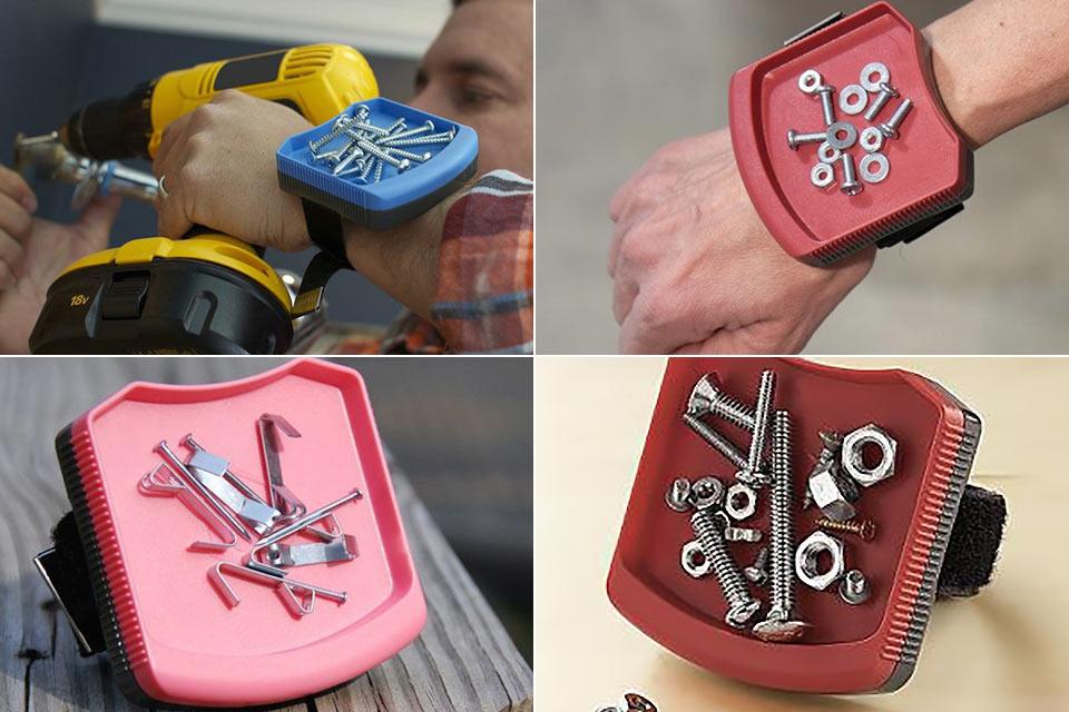 Магнитный браслет Magwear для монтажников
