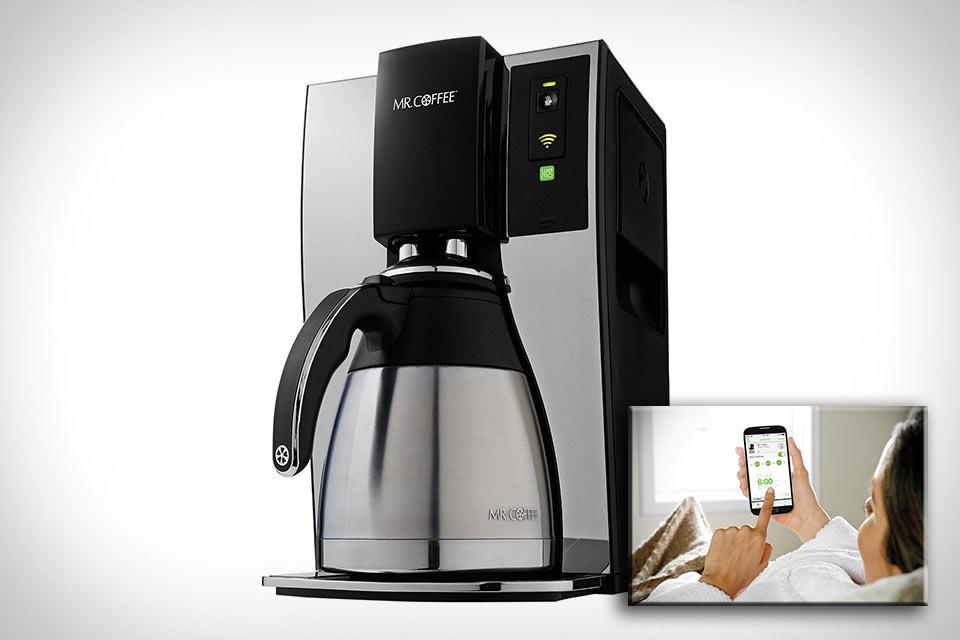 Смарт-кофеварка Mr. Coffee