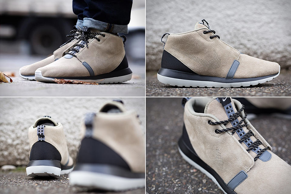 Беговые кроссовки Nike Roshe Run NM для холодной погоды