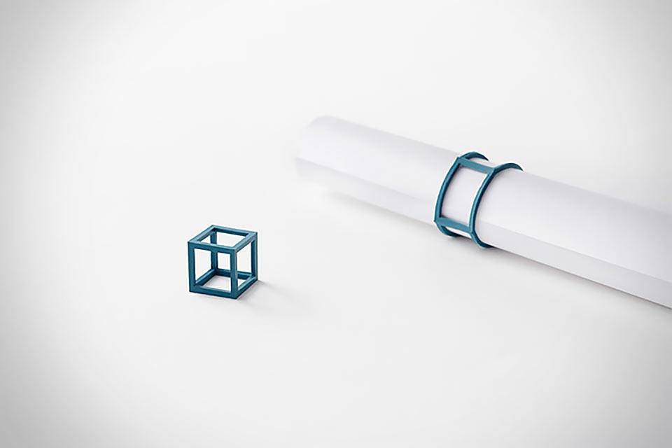 Стяжка Silicone Cube для чертежников