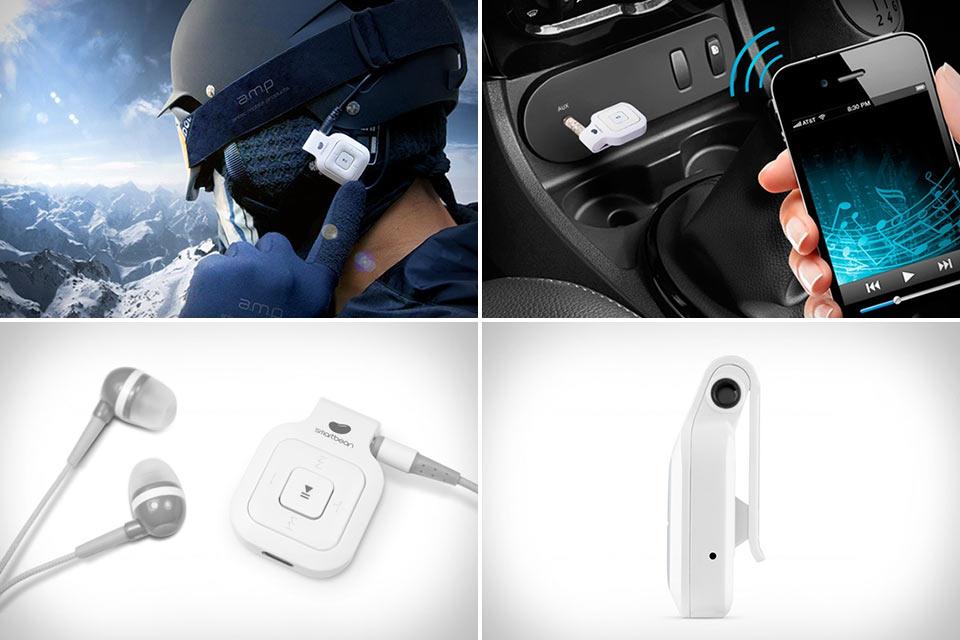Bluetooth-ресивер Smartbean для превращения любых наушников в беспроводную гарнитуру