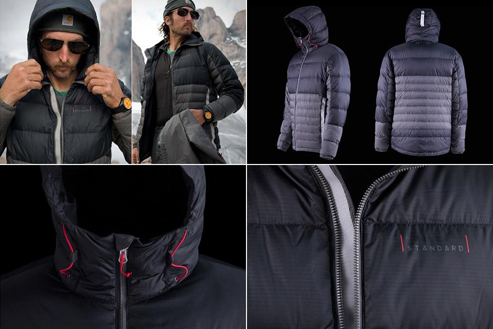 Хорошая зимняя куртка Mountain Standard Hooded Down с несъемным капюшоном