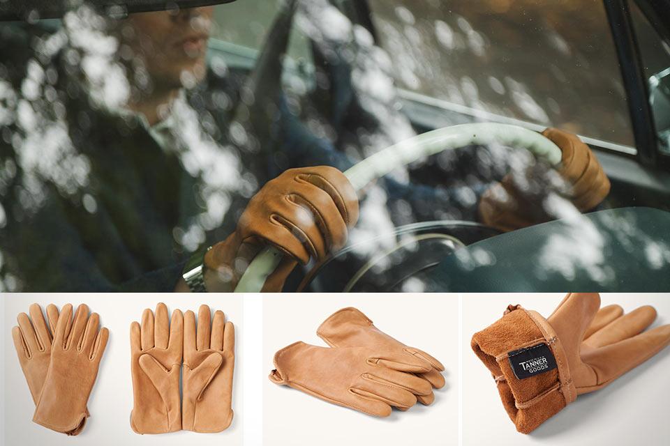 Водительские перчатки Tanner Goods Utica родом из Второй мировой войны