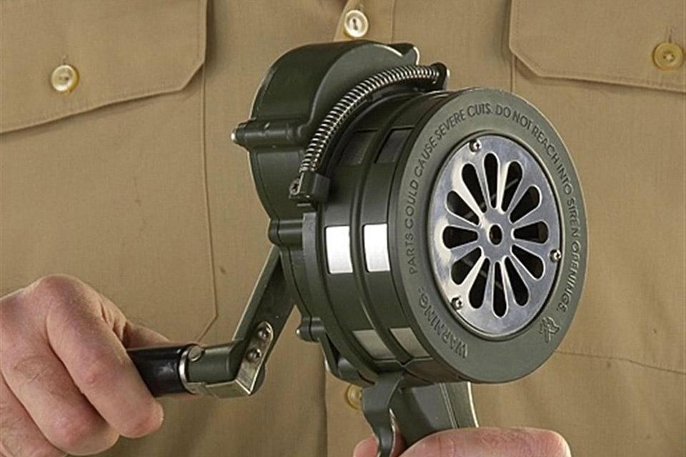 Голосистая сирена Viking Horns VMS-100M с ручным приводом