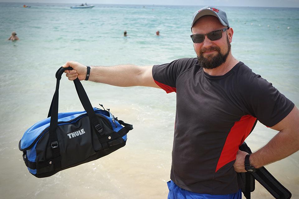 Спортивно-туристическая сумка-рюкзак Thule Chasm