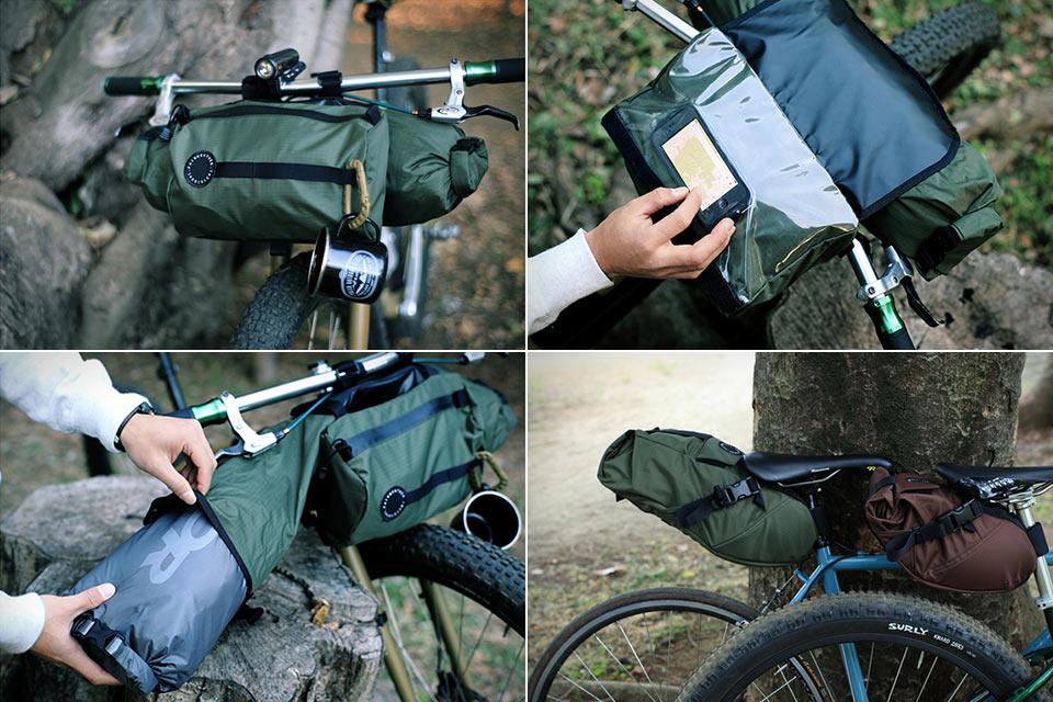 Функциональные Велосипедные сумки Fairweather