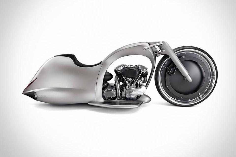 Ни на что не похожий мотоцикл Full Moon Concept