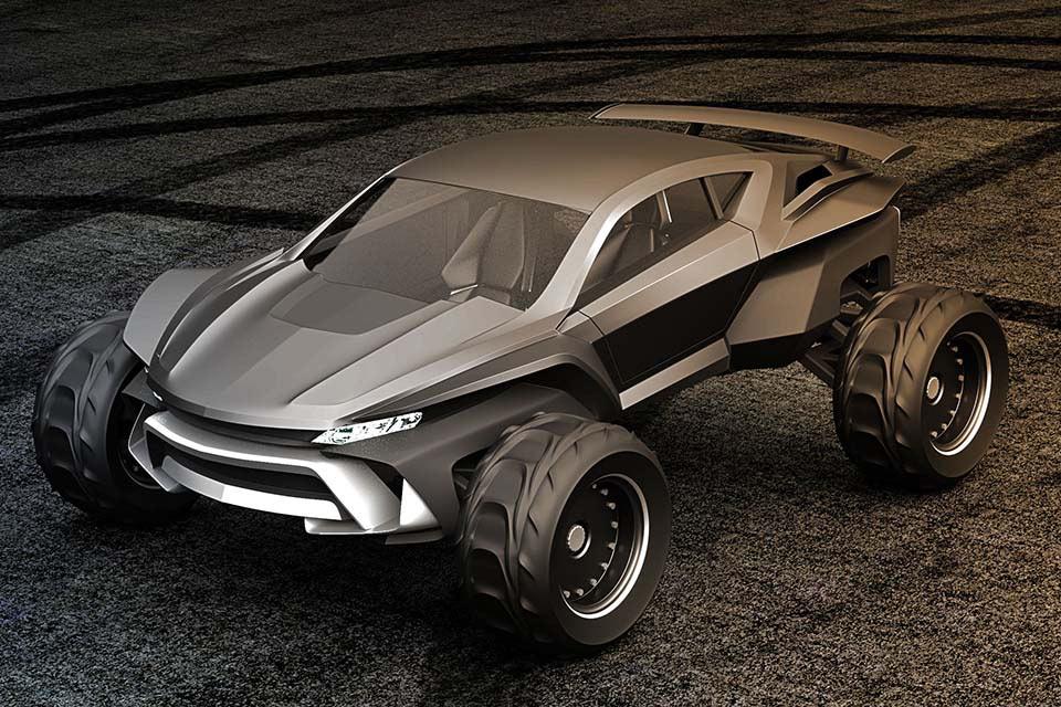 Постапокалиптический автомобиль Gray Design Sidewinder