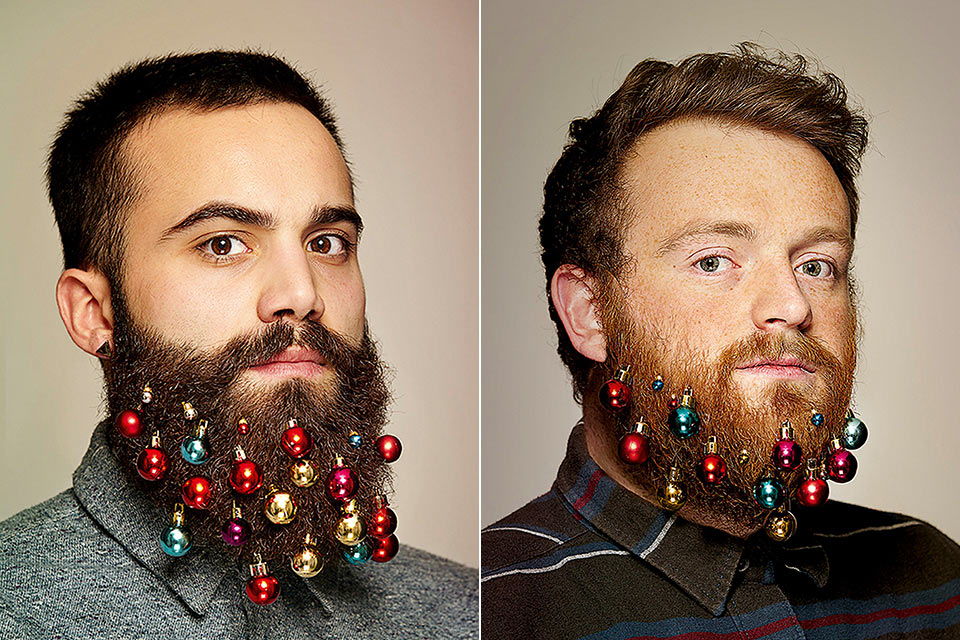 Новогоднее украшение Beard Baubles для бородатых мужиков