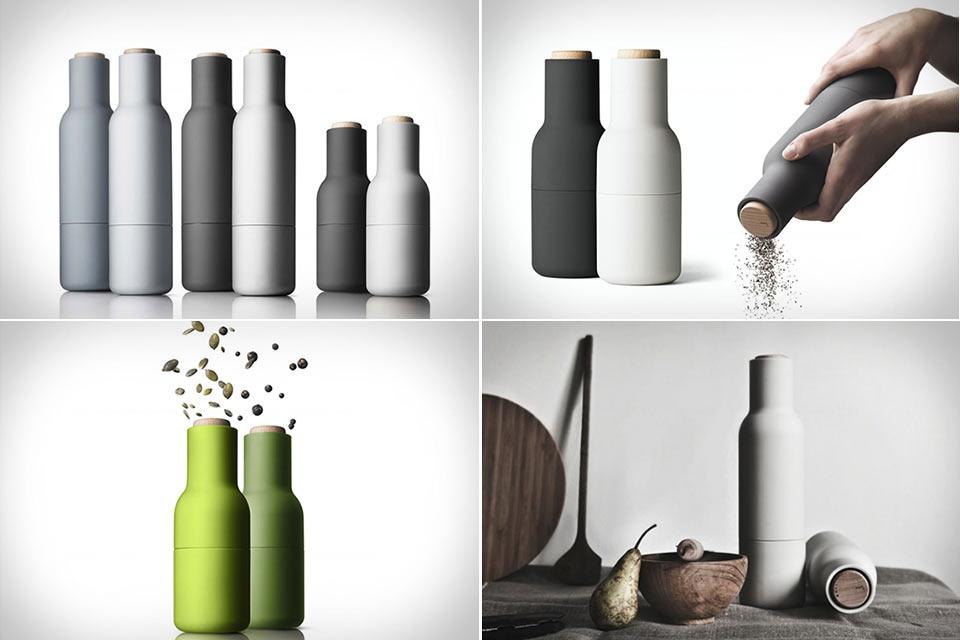Керамический гриндер Bottle Grinder в форме бутылки