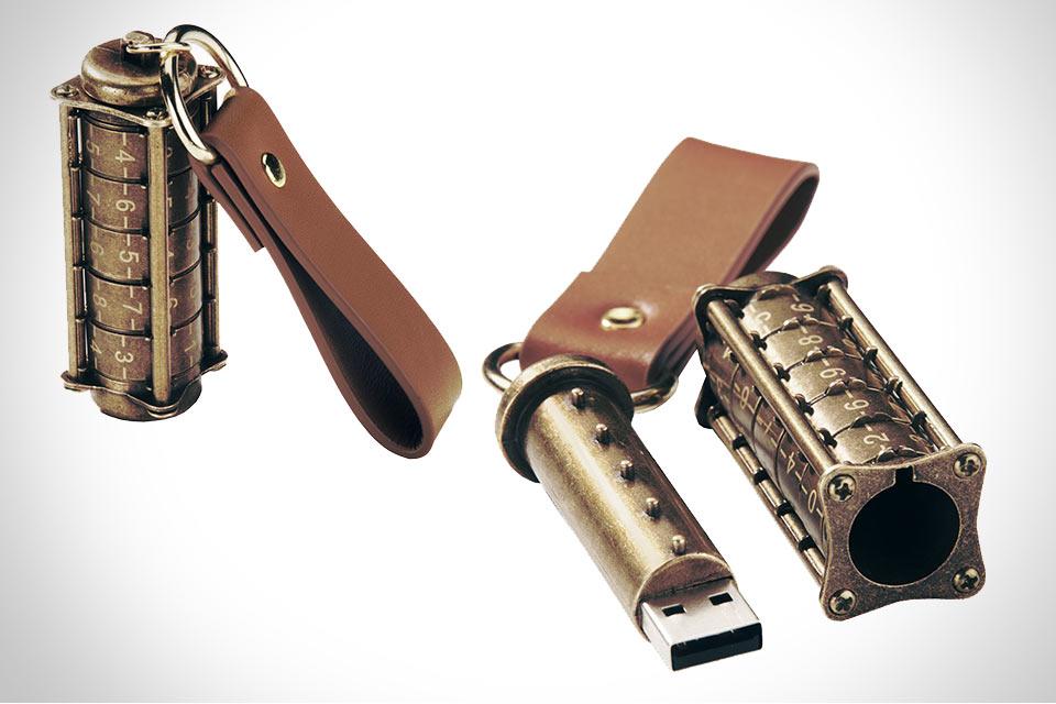 USB-накопитель Cryptex с механической системой защиты