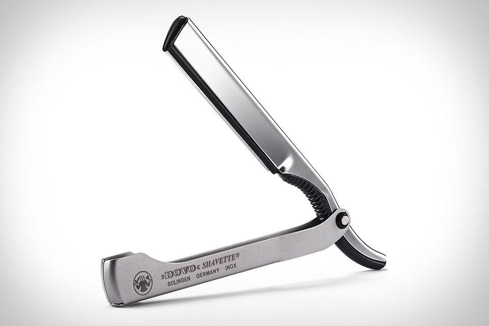 Опасная бритва the Dovo Shavette Straight Razor со сменными лезвиями