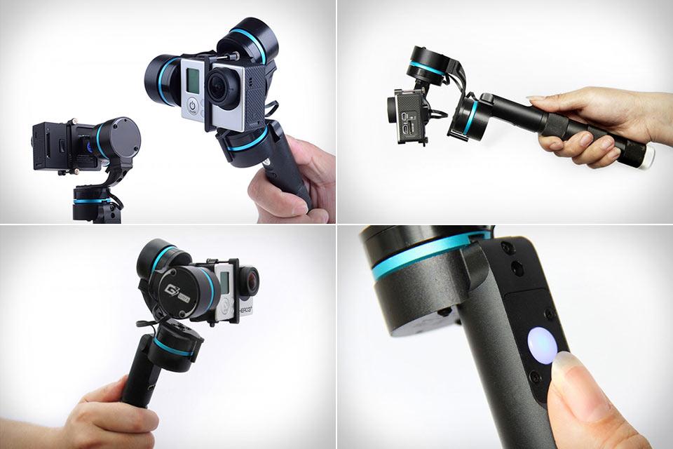 Трехосный стабилизатор изображения FeiYuTech FY-G3 Ultra для GoPro