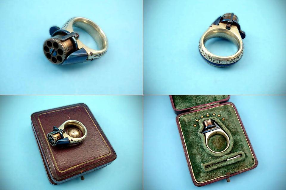 Револьвер-кольцо Femme Fatale