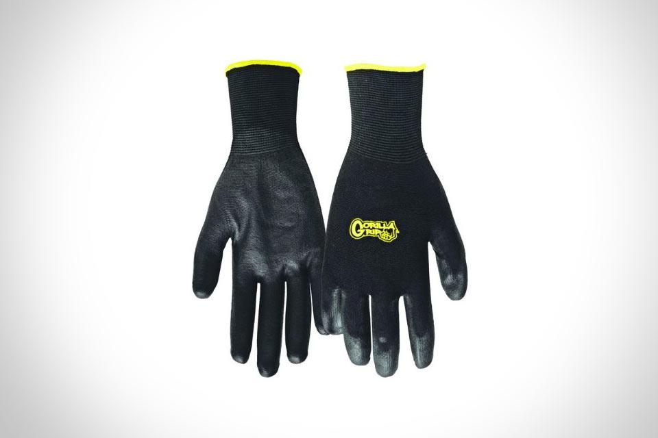 Рабочие перчатки Grease Monkey Gorilla Grip с мощным хватом