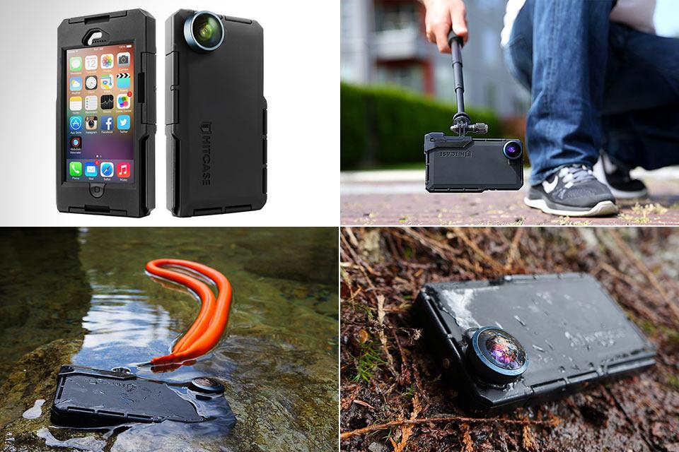 Чехол Hitcase, который превращает iPhone в экшн-камеру
